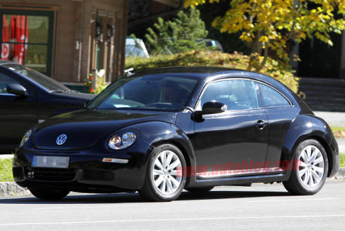 VW Beetle Spy Shots