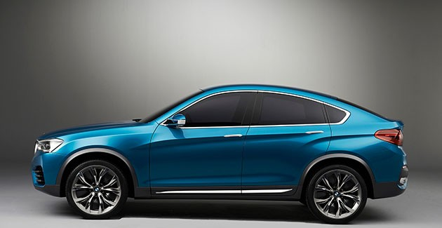 BMW previews X4 in China
