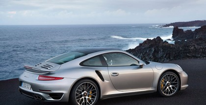 Porsche 911 Turbo S (991) Rear