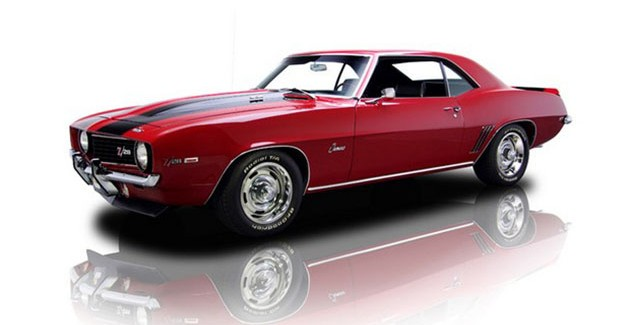 1969cGarnet Red Chevrolet Camaro