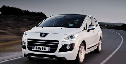Peugeot 3008 Front