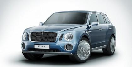 Bentley EXP9 F SUV Concept