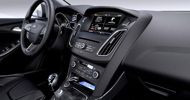 2014 Ford Focus Facelift Interior