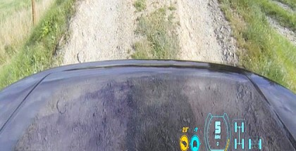 Land Rover Transparent Bonnet