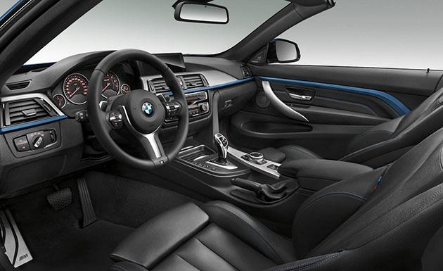 BMW 435i Convertible Interior