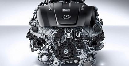Mecedes-Benz AMG 4,0-litre V8