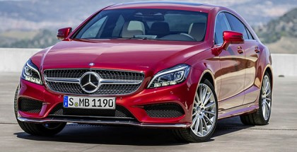 Mercedes-Benz face lifted CLS