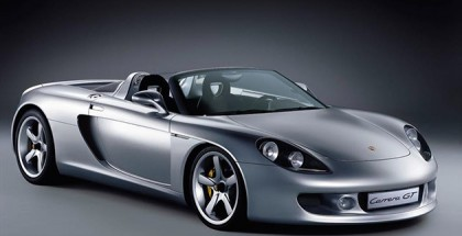 The Porsche Carrera GT was the last big engined supercar