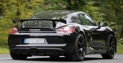 Porsche Cayman GT4 spied