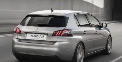 Peugeot 308 Rear