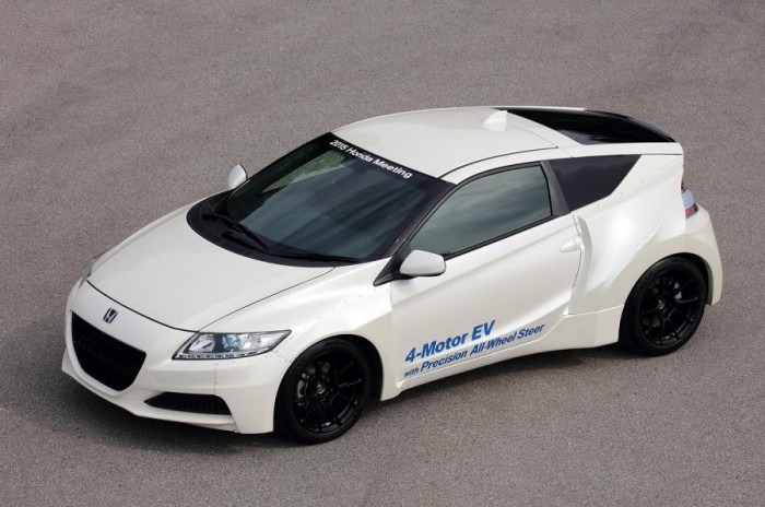 Electric Sports Cars The Future Of Honda - Sports cars that start with z