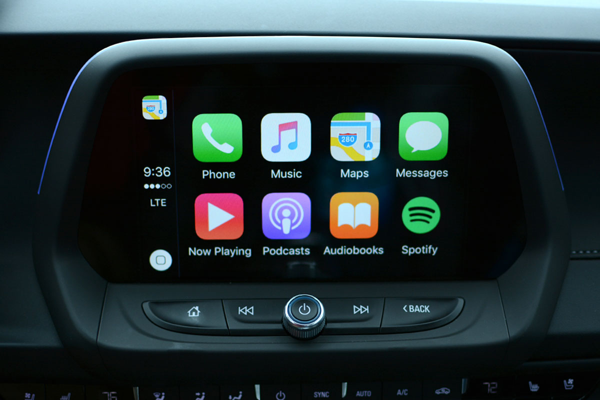 Web Exclusive: Chevrolet Apple CarPlay