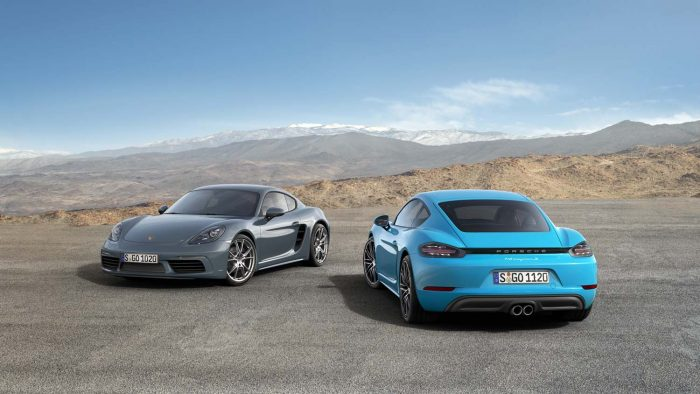 Cayman becomes Porsche's junior model