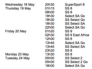 RPM Ep352 Schedule