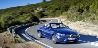 Drop-top Mercedes a C-Class first