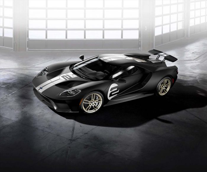 Special Ford GT's smart livery a reminder of greatness