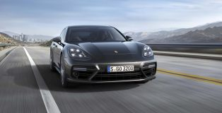 All-new, Gen2 Porsche Panamera Turbo