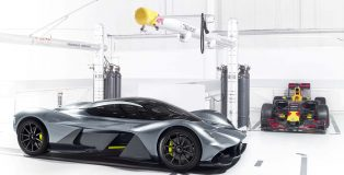 Adrian Newey's new hypercar will be built and powered by Aston Martin