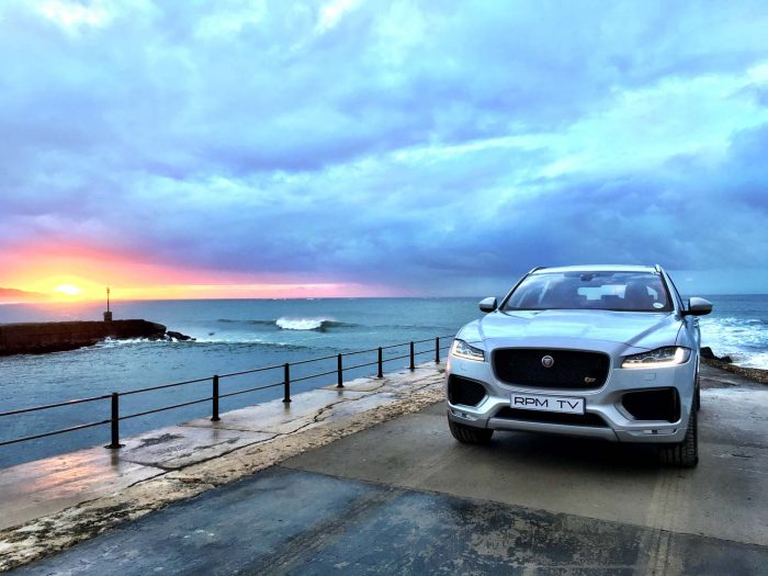 New Jaguar F-Pace debuts