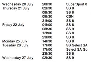 RPM Ep361 Schedule