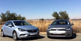 Opel Astra 1.4T Enjoy vs VW Golf 1.4 TFSI