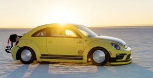 VW Beetle LSR sets new World Speed Week record