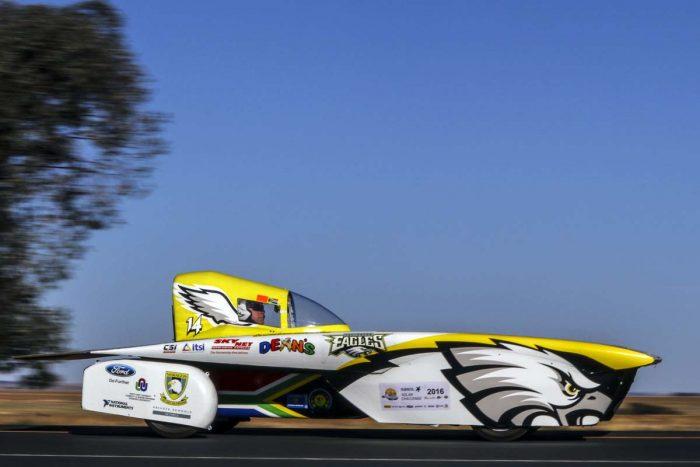 Sunny Side Up As Sa Teams Tackle Sasol Solar Challenge