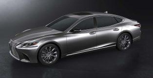 New Lexus LS400