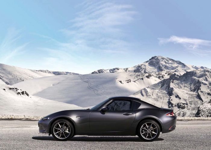 Mazda's retractable fastback MX-5 makes production debut