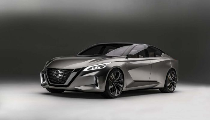 Is the Vmotion 2.0 really Nissan's sedan design future?