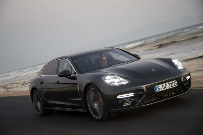 Stretched Porsche Panamera more than just a luxury express
