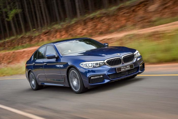 All-new BMW 5-Series sets dynamic benchmark