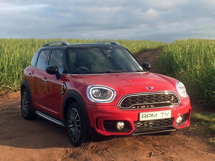 Maximum attack as Mini Countryman goes on SUV offensive
