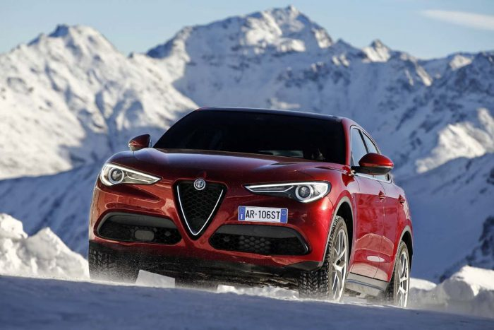 Stelvio struts Alfa Romeo's SUV stuff