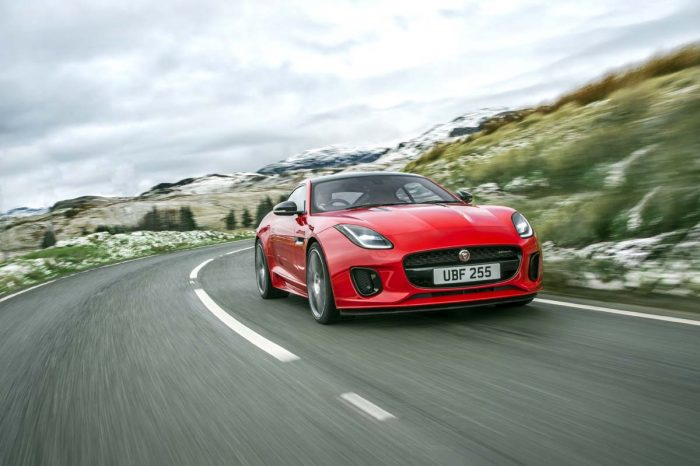 Frugal four-pot F-Type chases enhanced value