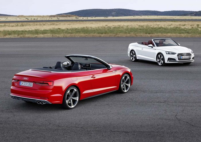 New Audi A5 Cabriolet let's the sun shine in
