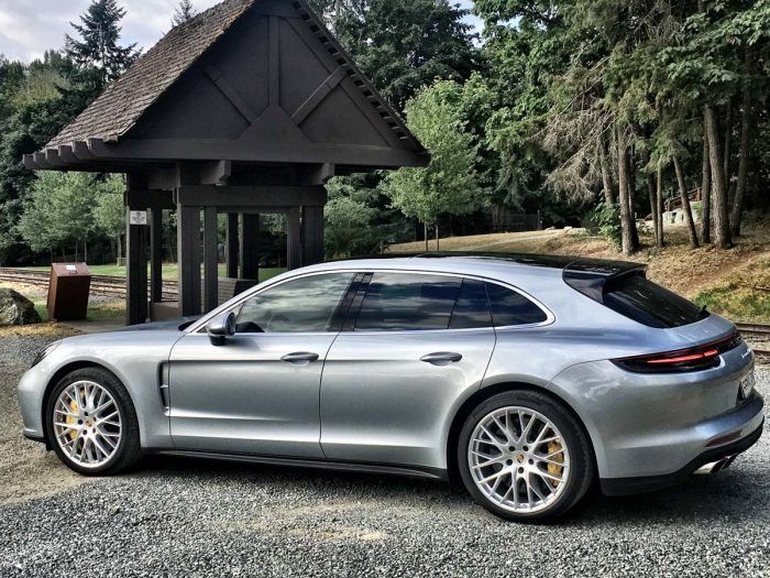 Porsche's Panamera chooses the shooting brake route