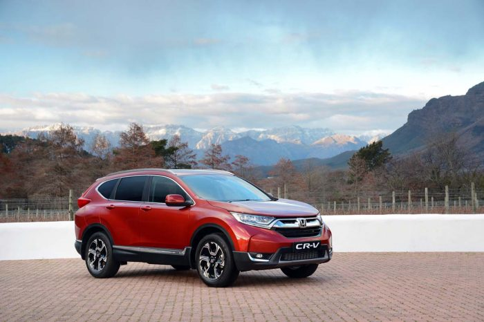 Gen 5 Honda CR-V smarter and larger than ever – with turbo power, too