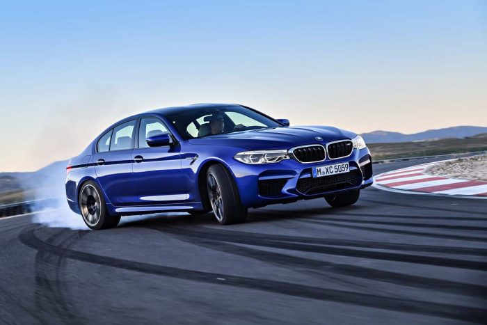 All-wheel drive BMW M5 wants to break new performance ground