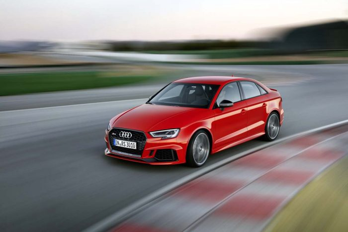 Fire-breathing Audi RS3 arrives in SA – and sedan format is a first