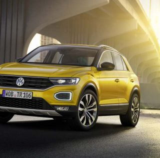 VW reaches into premium territory with emotive T-Roc crossover
