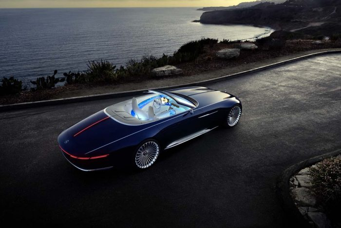Extravagant Mercedes-Maybach concept mixes art-deco excess with green credentials