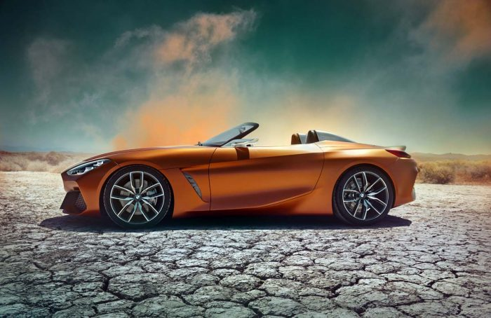 Open secret as BMW unveils Z4 Concept – but it previews new Toyota Supra, too