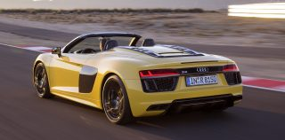 Video: Audi R8 V10 Spyder road test