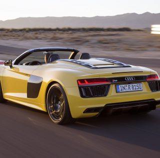 Video: Audi R8 V10 Spyder road test